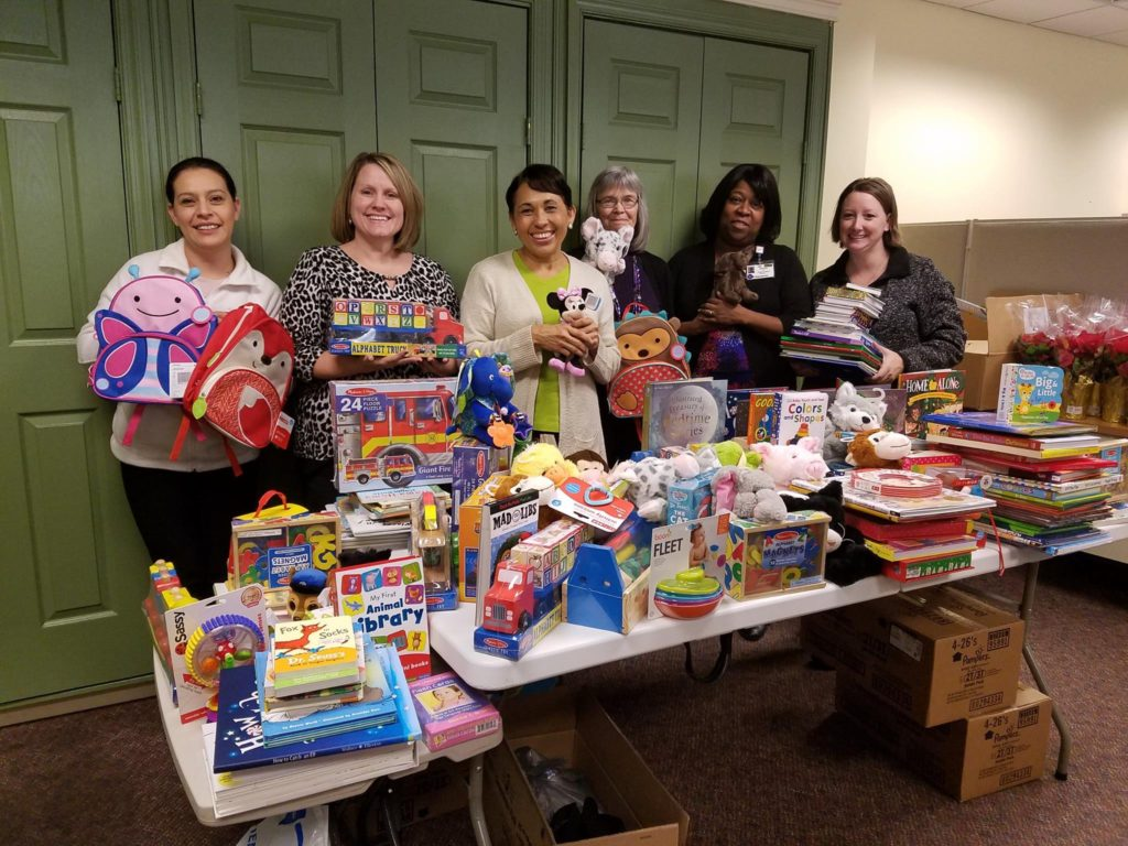 Big thanks to Books-A-Million in Winchester, VA for organizing a drive and collecting books and toys for the children in our community that are enrolled in the Healthy Families program. Your efforts help to make their holiday season bright!